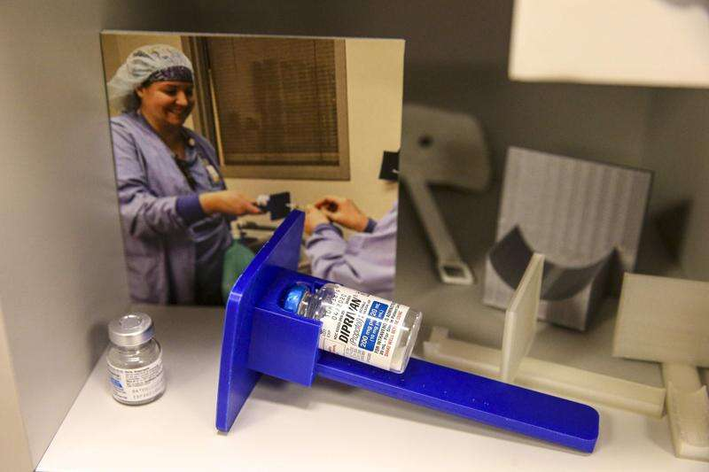 UnityPoint tech lab, with its own 3D printer, spurs staff innovation, engagement