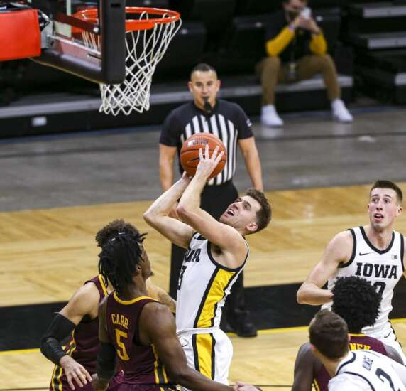 Iowa Hawkeyes' starters finished big this time against Minnesota