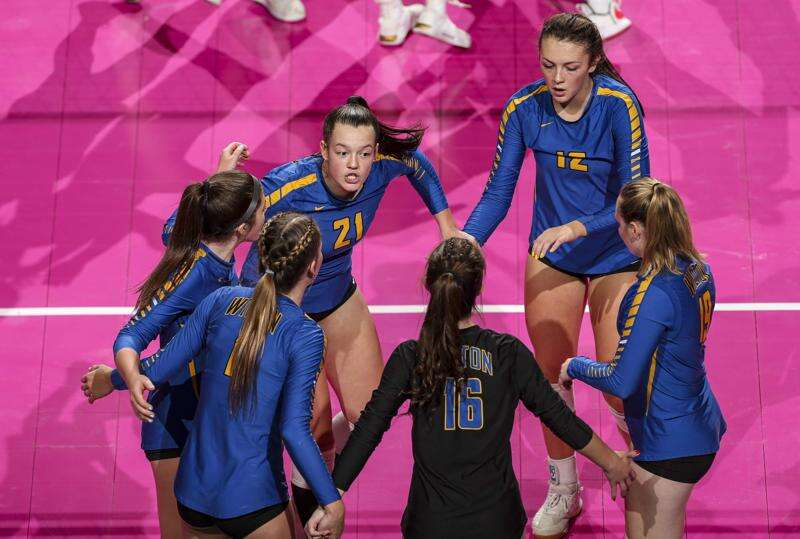 Third time's a charm: Wilton sweeps Van Meter to clear state volleyball quarterfinal hurdle