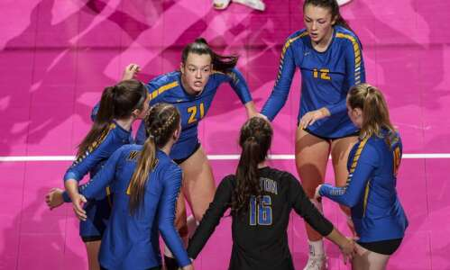 Third time's a charm: Wilton sweeps Van Meter to clear…