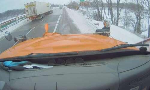 Iowa State Patrol: Nearly 100 wrecks during winter storm