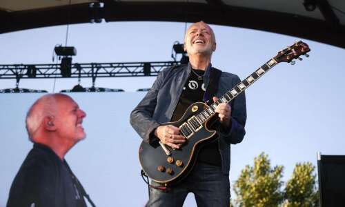 Peter Frampton shows the way during farewell tour stop in…