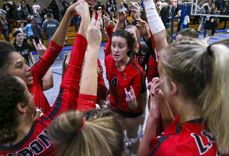 Lisbon volleyball sweeps its way to third TRC division crown in a row