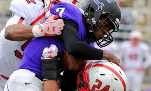 Monmouth handles Cornell, 49-7