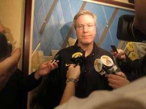 Transcript: Iowa's McCaffery, Baylor's Drew