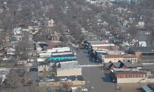 Iowa flood disaster not over 'by a long shot'