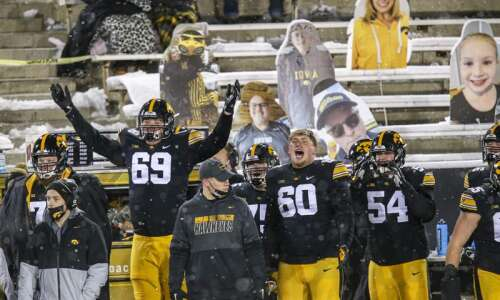 Photos: Iowa football vs. Wisconsin