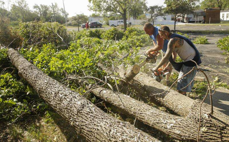 Houses of worship 'destroyed but not devastated' in derecho storm