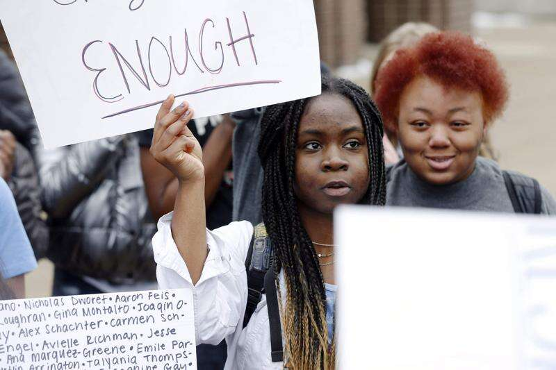 After a week of Cedar Rapids gun violence, teen protesters ask for better from schools, lawmakers