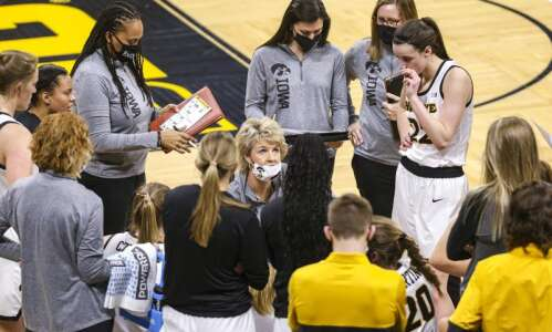Iowa women's basketball begins 5-game, 12-day stretch at Maryland