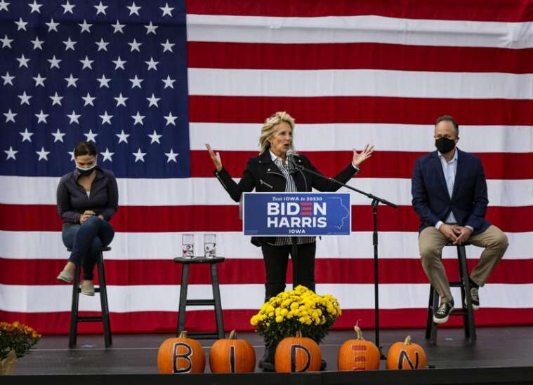 Missing in Iowa: presidential candidates
