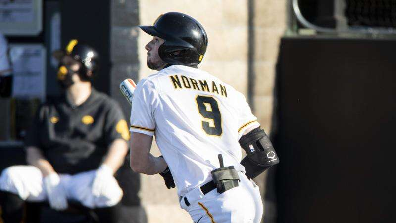 Ben Norman playing the best baseball of his career with the Iowa Hawkeyes
