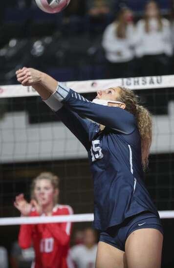 Photos: Cedar Rapids Xavier vs. Dallas Center-Grimes, Iowa Class 4A state volleyball quarterfinals