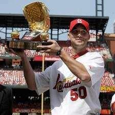 Cardinals' Adam Wainwright just a spectator this year ... of baseball and golf
