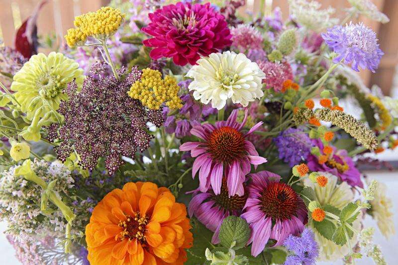 Now's the perfect time to enjoy some fresh flowers