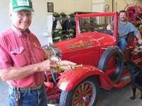 Oxford's Original Firetruck Restored 83 Years Later