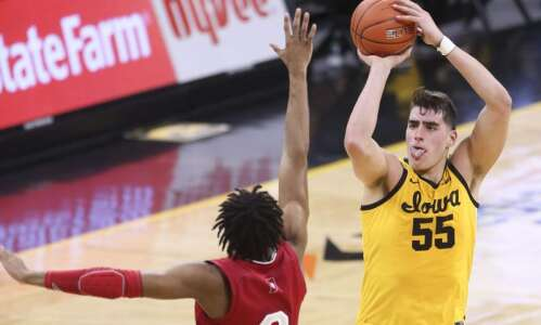 Iowa's Luka Garza is unanimous AP first-team All-American
