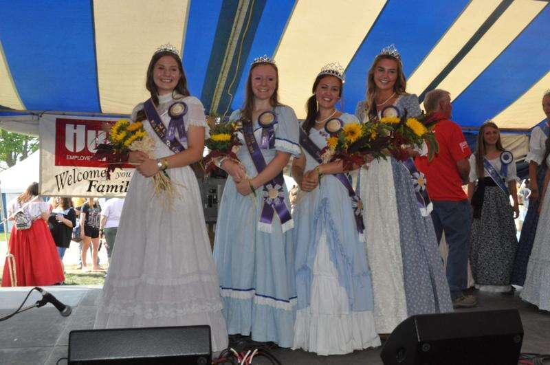 Andreasen crowned Miss Sweet Sixteen