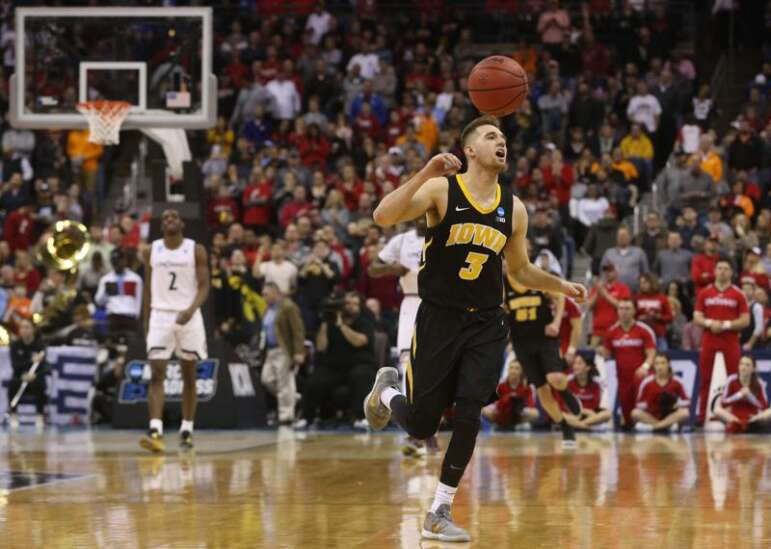 Iowa men's basketball tasting the high life, NCAA tournament seed-wise