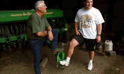 Iowa's farm kids have wonderful stories that sometimes include accidents