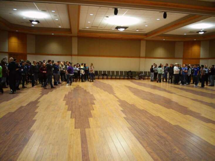 University of Northern Iowa pushes practice for high-profile caucuses