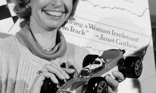 One of the first women to race NASCAR was Iowa…