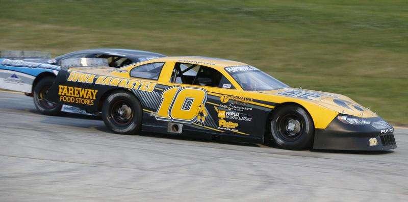 Special spring fling brings racing back to Hawkeye Downs Speedway
