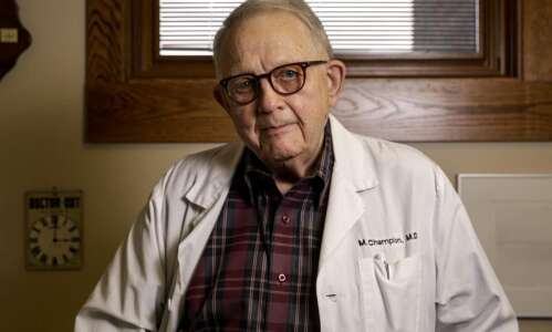 Iowa City doctor has been seeing patients for 50 years,…