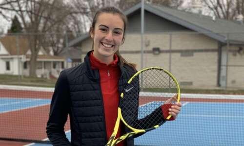 Iowa high school girls' tennis 2021: Gazette area players and…