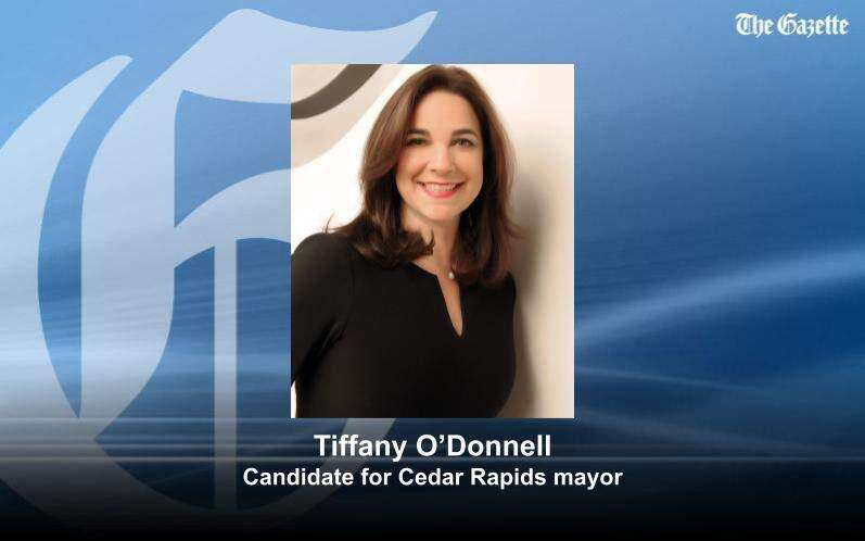 Tiffany O'Donnell, Women Lead Change CEO and former news anchor, running for Cedar Rapids mayor
