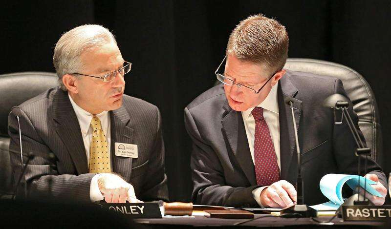 Iowa Board of Regents executive director made more than double his capped salary