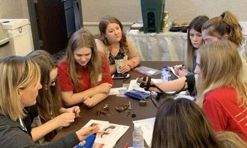 Eighth-grade girls get taste of engineering at hands-on Collins Aerospace…
