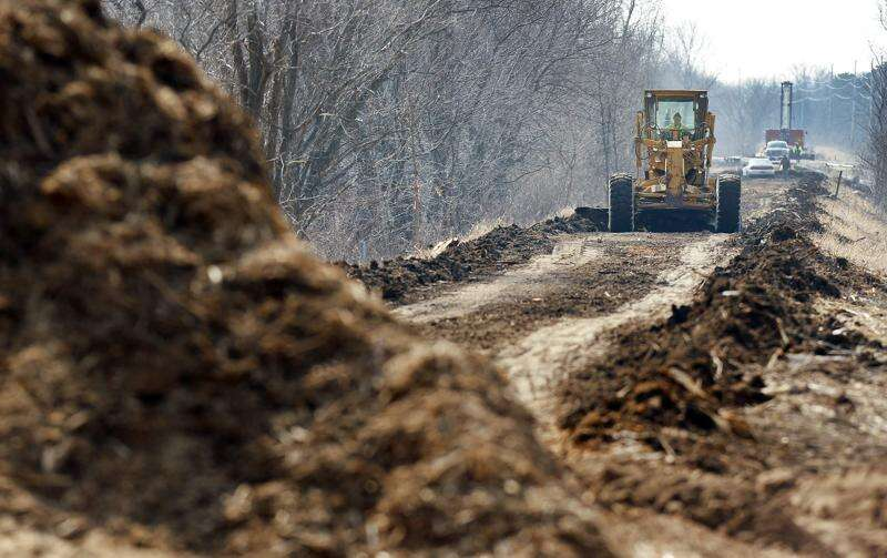 Work begins to fill Solon-to-Ely gap in trail network