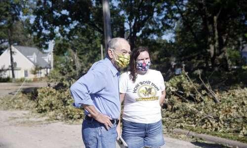 Trump visit to storm-damaged Iowa would be helpful, Sen. Chuck…