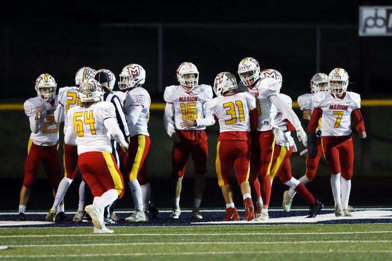 Photos: Marion vs. Cedar Rapids Xavier, Class 3A Iowa high school football second round