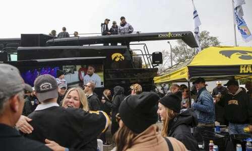Hey Iowa fans, the Hawkeyes missed you