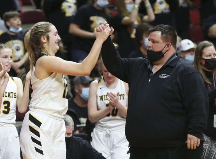 Maquoketa Valley stumbles, then storms back in girls' state basketball quarterfinal win