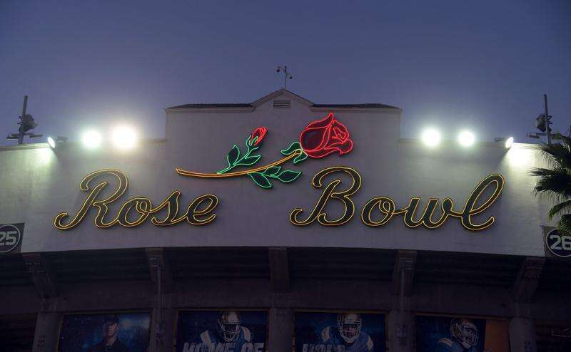 Authorities confiscated 1,144 counterfeit items during Hawkeye-Stanford Rose Bowl