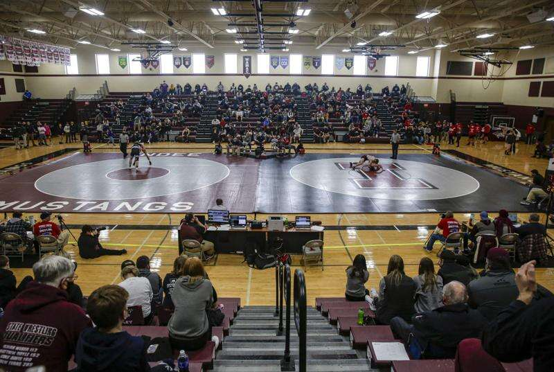 Photos: Class 2A wrestling sectionals in Independence
