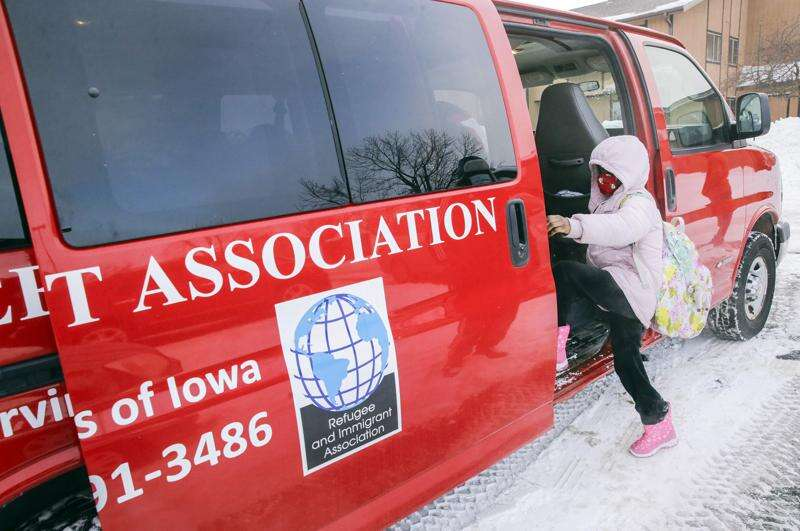 A ride to school and peace of mind for Cedar Rapids parents