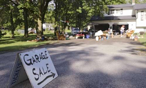 Feeling thrifty? Iowa City resident organizes first citywide garage sale
