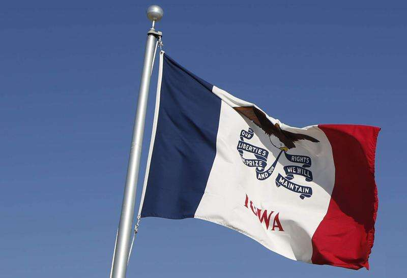 Cedar Rapids switching flags but long may Iowa's wave