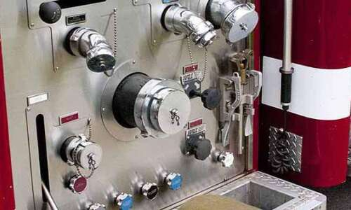 Electrical box starts house fire near Bertram