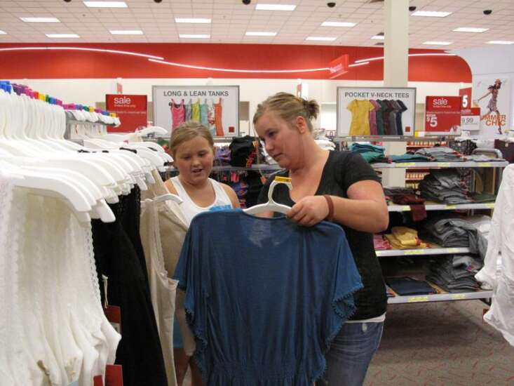 Iowa sales tax holiday set for this weekend