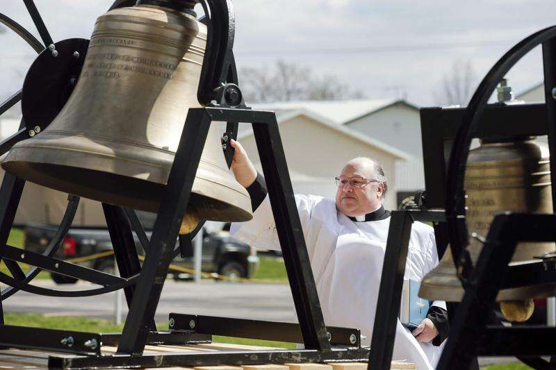 Historic Norway church's bells restored just in time for Easter after derecho damage