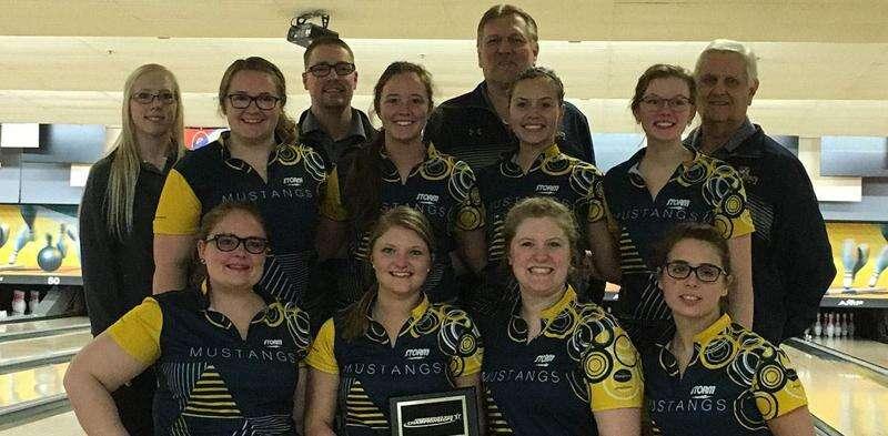 Landmark season rolls on for Mount Mercy women's bowling