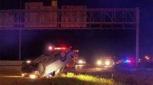 Driver identified in I-380 rollover crash