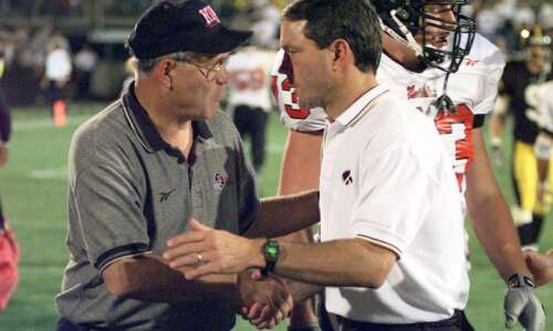 Kirk Ferentz's first victory as Iowa head coach