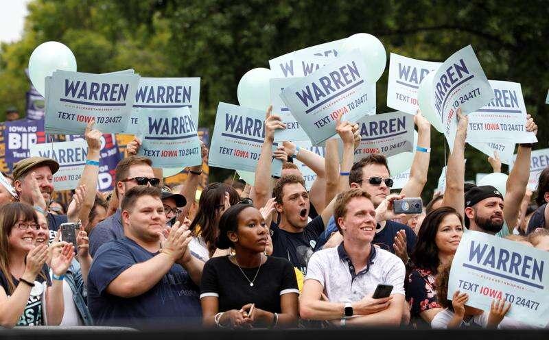 Capitol Ideas: Enthusiasm for Warren, Buttigieg and gun control on display at Steak Fry