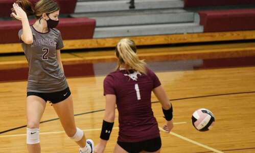 Mount Vernon volleyball adopts team-wide mask usage for stretch run